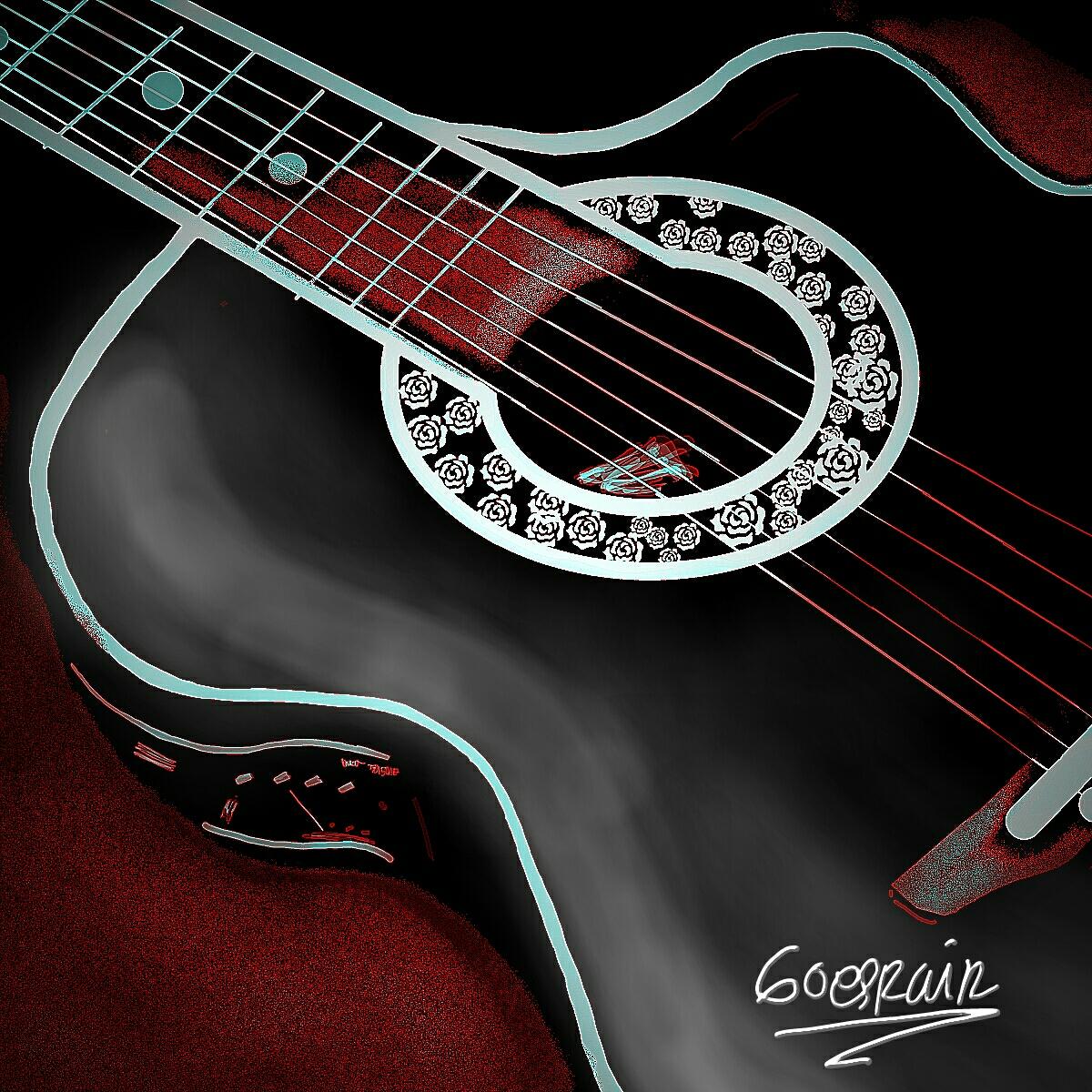 Guitar Tumblr Drawing Guitar Drawing Contest Winners