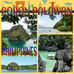 gdtravelpostcard islandhopping coron palawan philippines travel