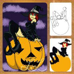 witch draw pencil art drawstepbystep stepbystep