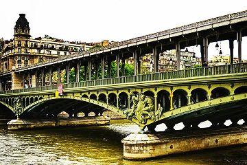 bridge summer paris photography quotes & sayings