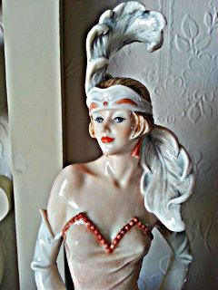 vintage retro hdr statue photostory