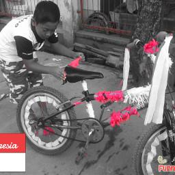 indonesia photography black & white color splash photostory love funnzyfam