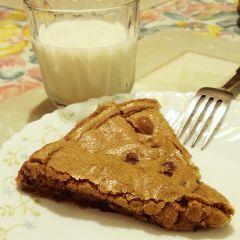 milk chocolate chip cookie food