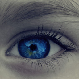 eyes blue people color splash wapeyes