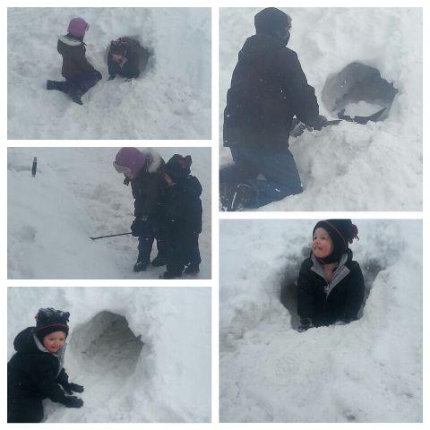 snowfun funwithdaddy childhood