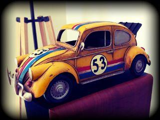 volkswagen lomo toy yellow home retro