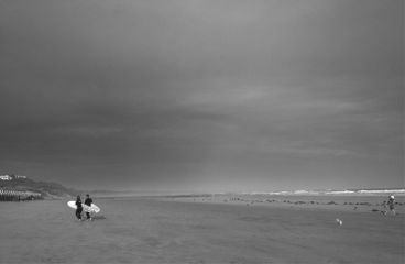 photography beach black & white summer