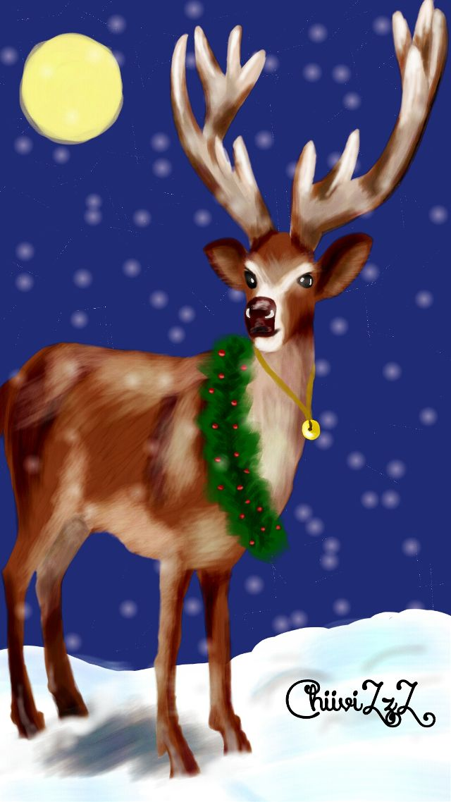 reindeer drawing art contest winners