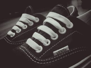 black & white old photo photography retro vans shoe