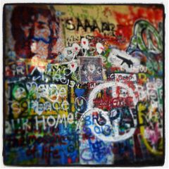 graffiti lennon imagine