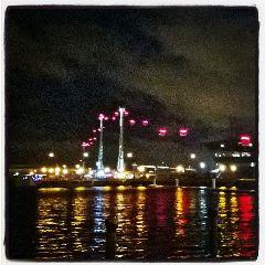 london night travel colorful love